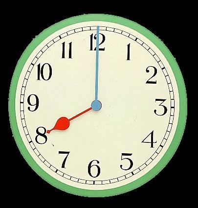 Resultado de imagen de reloj en punto
